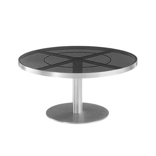 セーヌ ラウンドコーヒーテーブル (SEINE-GSU8804HL)