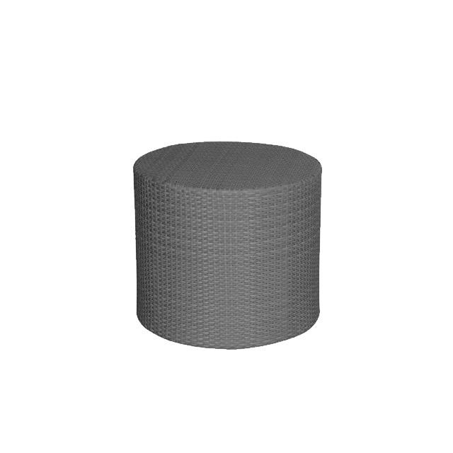 タイション ラウンドサイドテーブル (TAYSHON-AL-0402-ST)