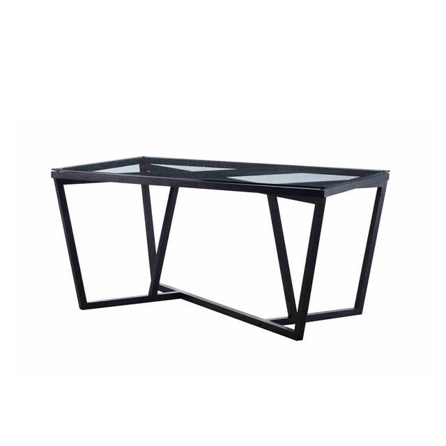 トラン ダイニングテーブル(6人掛) + 強化ガラス天板 (TRANG-GDIT07)