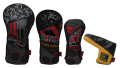 Patchwork Headcover SET-2