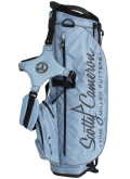 Stand Bag Light Blue&Grey&Black