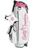 Stand Bag White&Pink&Black