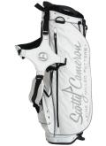 Stand Bag White&Silver&Black