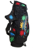 ScottyCameron Stand Bag Paint Splash Black