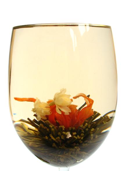 花咲く工芸茶 心心相印