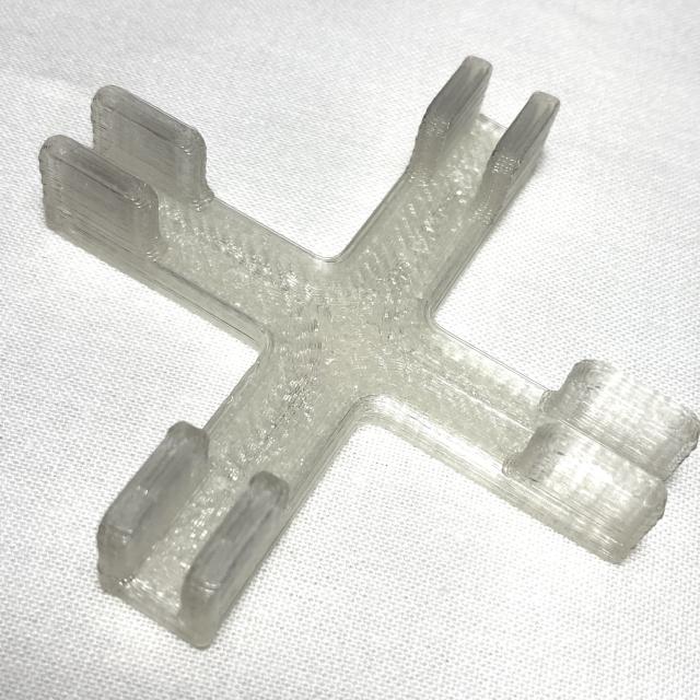 飛沫感染防止パネル 連結部品 クロス ジョイント 5ミリ対応