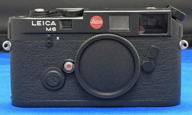 未使用・完品 Leica(ライカ)M6 ブラックボディ  #2063574