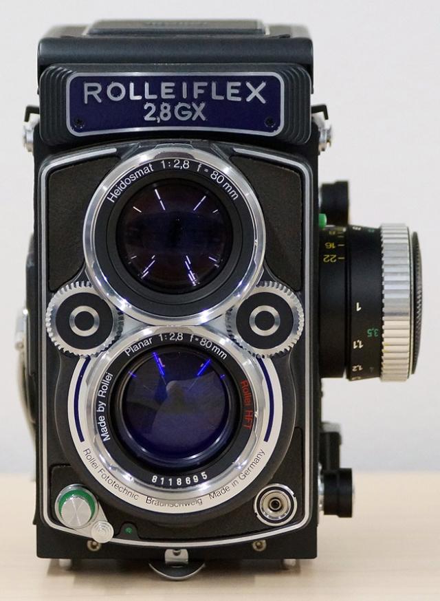 ≪送料無料≫ローライフレックス2.8GX Expression Plannar 80mm f2.8 付 未使用品