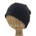 医療用帽子 真っ黒 超薄 帽子 夏用 1131