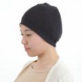 医療用帽子 パネル帽子 真っ黒帽子 2120
