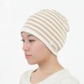 茶綿太ボーダー帽子 2713