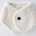 医療用帽子 襟マフラー ナチュラル 置き撮り写真 2822 tendre オーガニックコットン 冬用