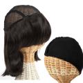 医療用 髪の毛付き ウィッグ帽子 ウィッグに見える帽子 ミディアム インナーキャップのセット w-01_2set