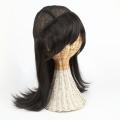 医療用 髪の毛付き ウィッグ帽子 ウィッグに見える帽子 ロング w-02
