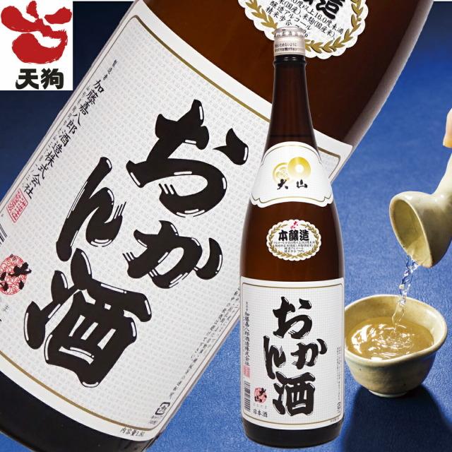 日本酒 大山 おかん酒本醸造 一升瓶 1800ml