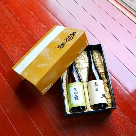 【オンラインショップ限定商品】冬ギフト 720ml 2本セット   天狗舞【きもと仕込純米酒・COMON特別純米】