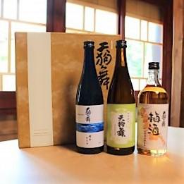 【2021お中元ギフト】3本セット 天狗舞【梅酒・COMON特別純米・超辛純米酒】