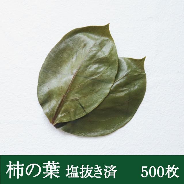 柿の葉一枚洗い500枚