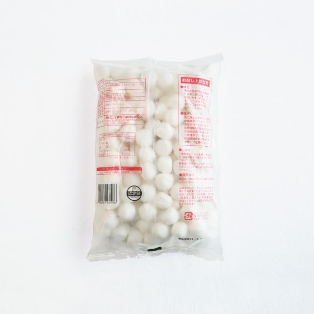 冷凍白玉餅 パッケージ