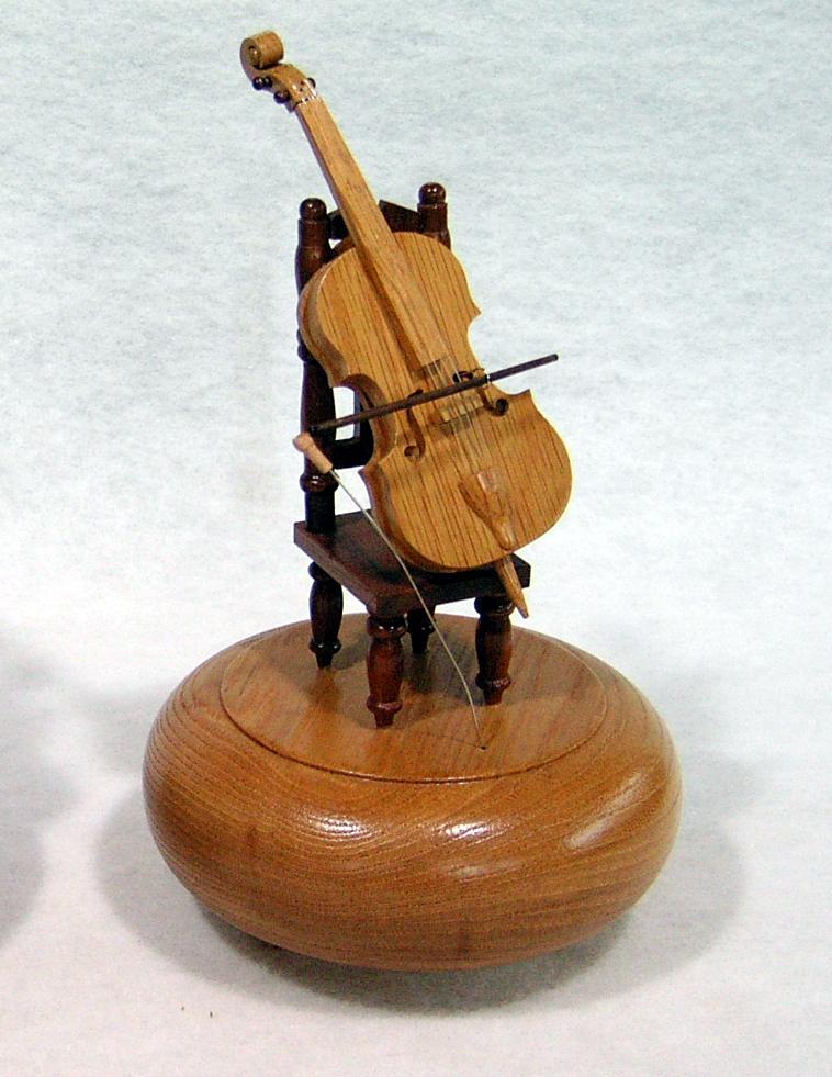 チェロ演奏オルゴール