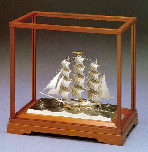 銀製置物 ヨット