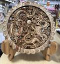 木製レリーフ
