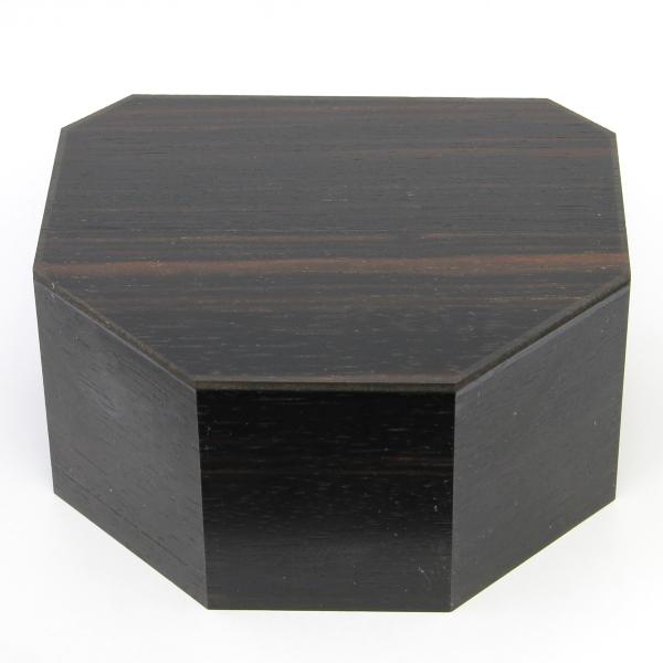 《限定価格》木製八角仏像台 無地