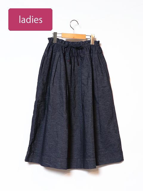 6オンスデニムポケットフィセルスカート