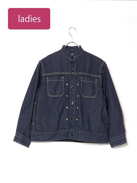 8オンスデニムバータックシャツジャケット