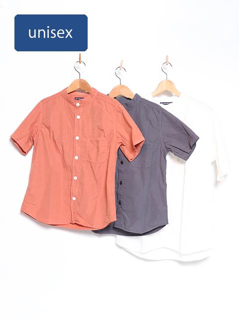 ブロードバンドカラーオープンシャツ