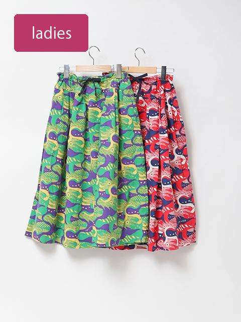 ドラゴンコードポケットフィセルスカート