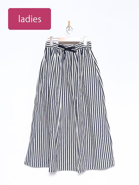 ヒッコリーマキシギャザースカート