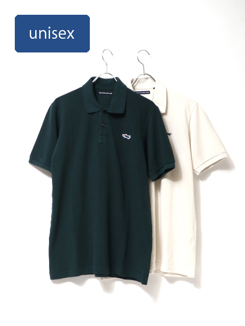 ライトカノコポロシャツ