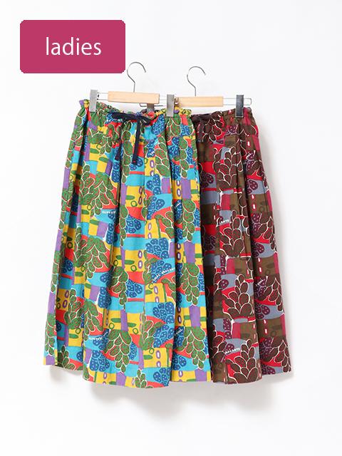 メキシコグログランポケットフィセルスカート