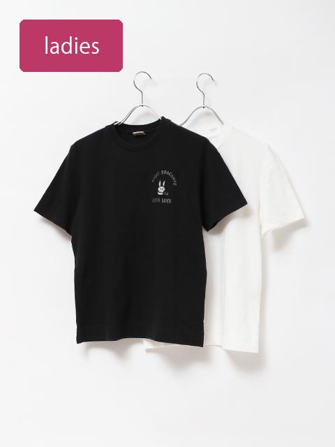 スケルトン刺繍半袖Tシャツ