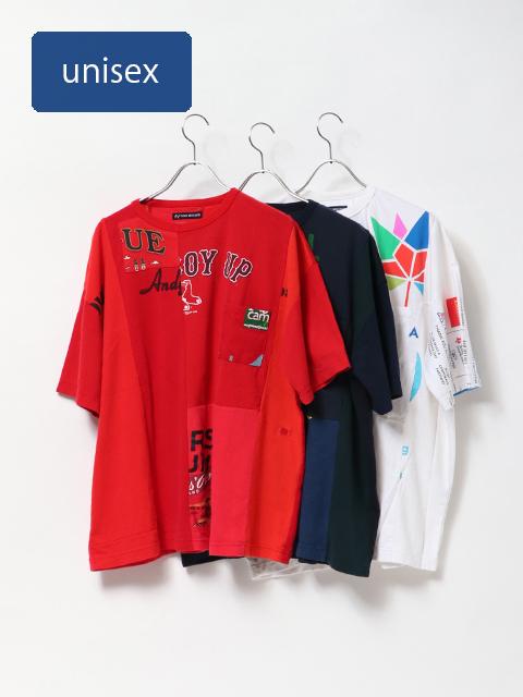 リメイクTシャツベニスビーチポケット半袖T