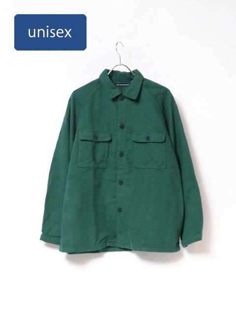 スラブネップラグランシャツジャケット