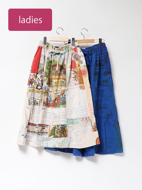 ヴィンテージクロスワンポケットスカート