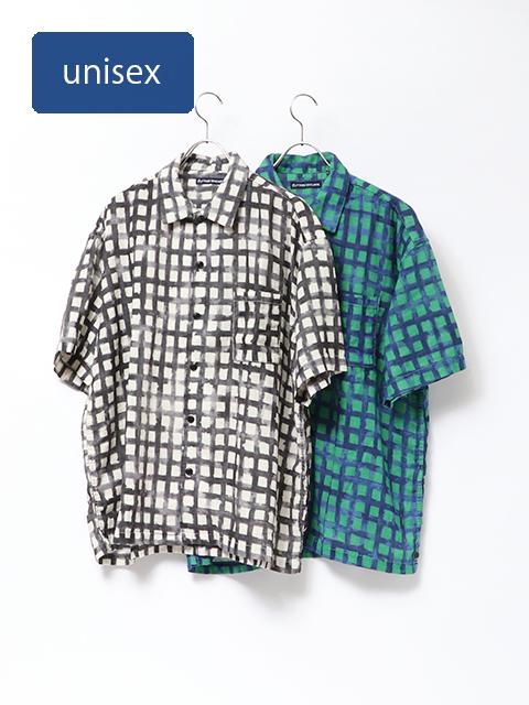 ZENZO carreaux ベニスビーチ半袖シャツ