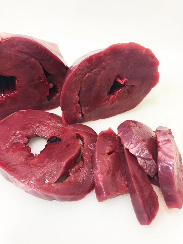 KOMORO PREMIUM  鹿肉ハツ(心臓)1300g ヴェニソン/国産/犬/猫/無添加/ジビエ