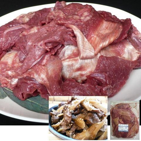 【送料無料】【訳あり】馬肉 太スジ 1kg×10P【10kgセット】