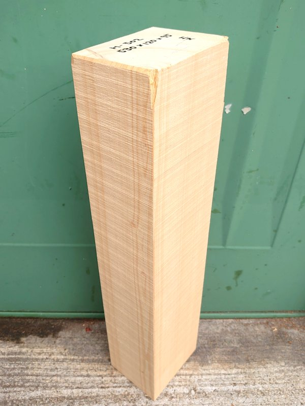 H-502 桧檜ヒノキひのき 米桧 彫刻用 530×120×95 天然乾燥材