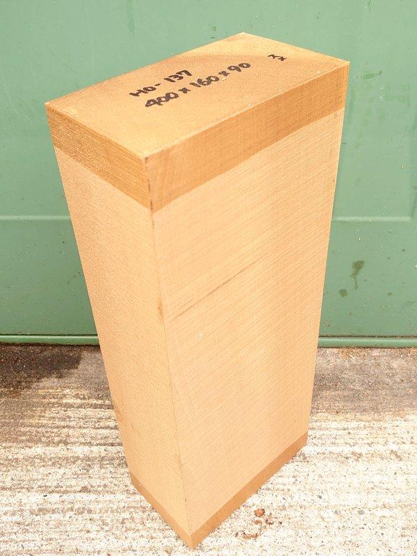 HO-137 朴ホウノキほうのき 国産 彫刻用材 400×160×90 乾燥材
