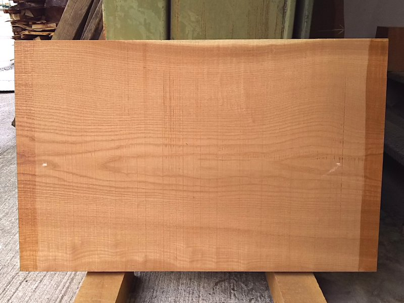 KP-103 玄圃梨ケンポナシ 国産 耳なし板 820×520 天然乾燥材