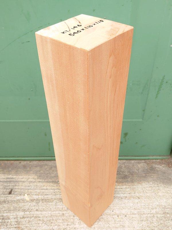 KT-146 桂カツラかつら 国産 彫刻用材アウトレット 540×110×110 乾燥材