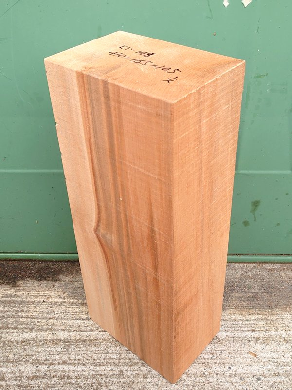 KT-148 桂カツラかつら 国産 彫刻用材アウトレット 410×165×105 乾燥材