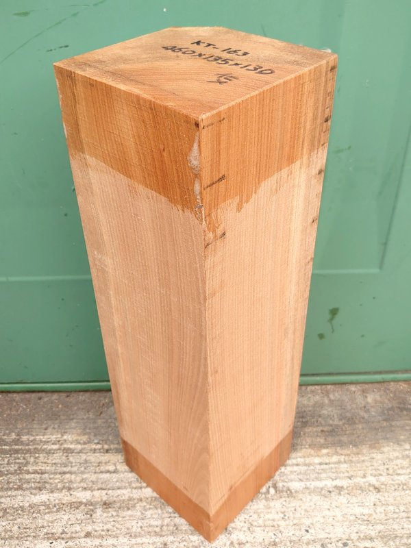 KT-163 桂カツラかつら 国産 彫刻用材 460×135×130 乾燥材