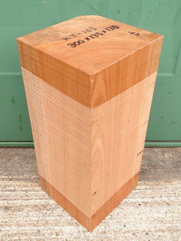 KT-165 桂カツラかつら 国産 彫刻用材 300×135×130 乾燥材
