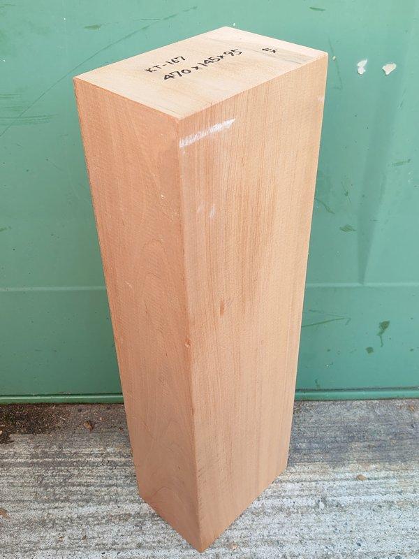 KT-167 桂カツラかつら 国産 彫刻用材 470×145×95 乾燥材