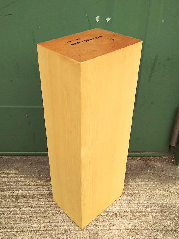 KY-138 榧カヤかや 彫刻用材 430×155×115 乾燥材